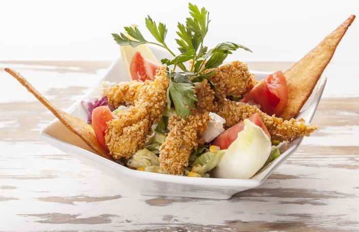 Crispy Chicken Salad