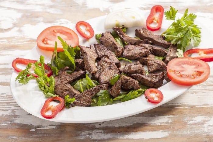 Fried Liver à la Albanian