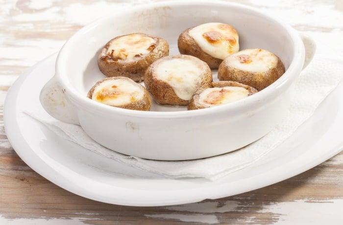 Mushrooms on tile