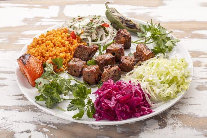 Rotisserie Beef kebab
