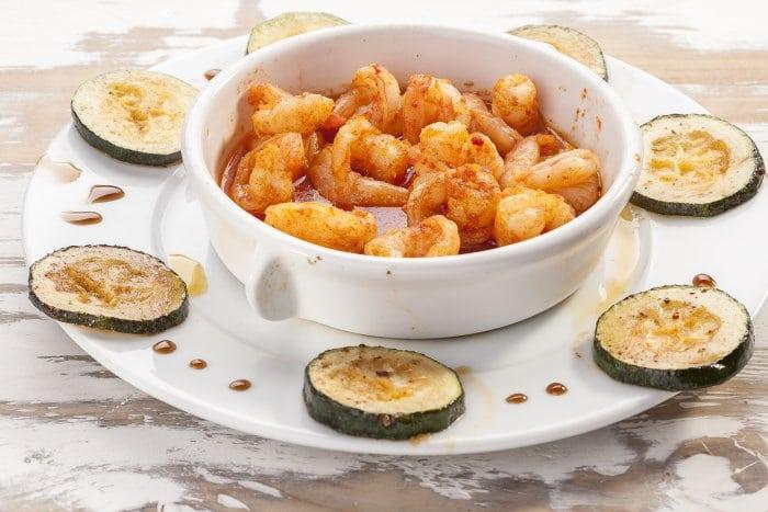 Shrimp in butter